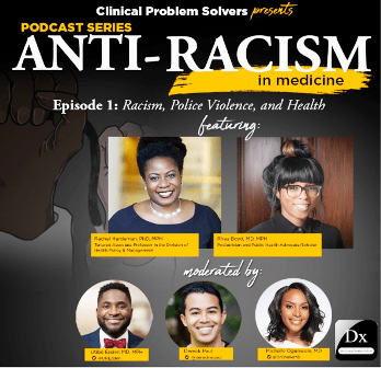 2020 EEH Enduring Program: Anti-racism in Medicine Banner