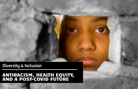 2020 EEH Enduring Program: Antiracism, Health Equity, and a Post-COVID Future Banner